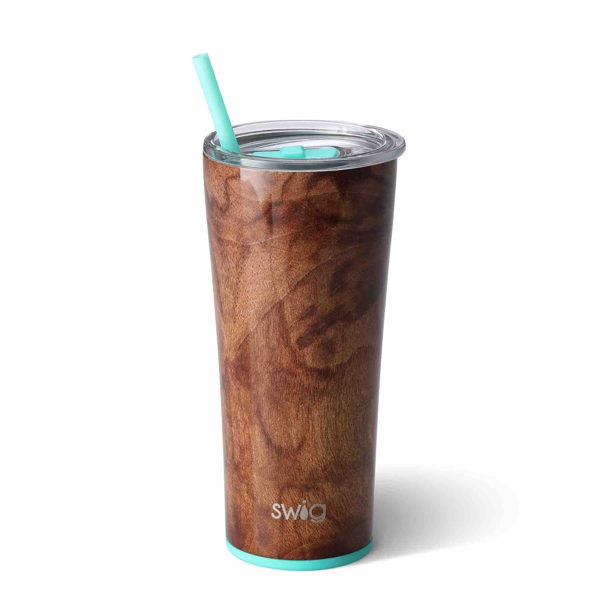 Swig Insulated Steel 22oz Tumbler | Black Walnut