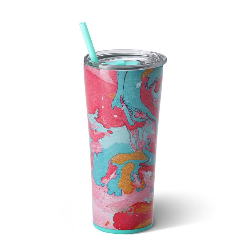 Swig Insulated Steel 22oz Tumbler | Cotton Candy