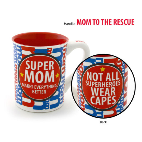 Our Name is Mud Mug - Super Mom