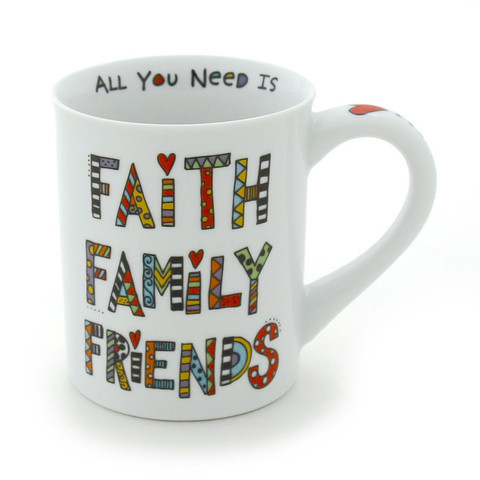 Our Name is Mud Mug - Faith Family Friends