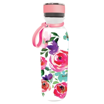 Insulated Steel Water Bottle | Refresh Boho Floral Party