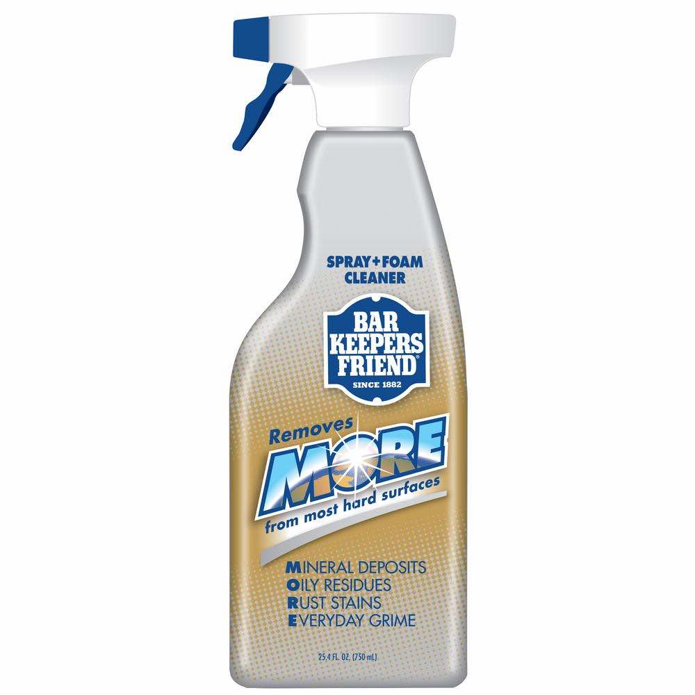 Bar Keepers Friend MORE Spray & Foam Cleaner