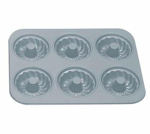 6-Cup Non-stick Fluted Tube Pan