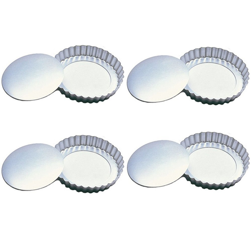 "Loose Bottom 4"" Tartlet Pans 