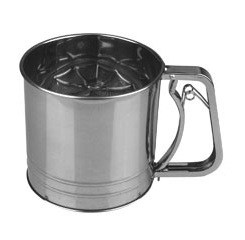 4 Cup Stainless Steel Flour Sifter