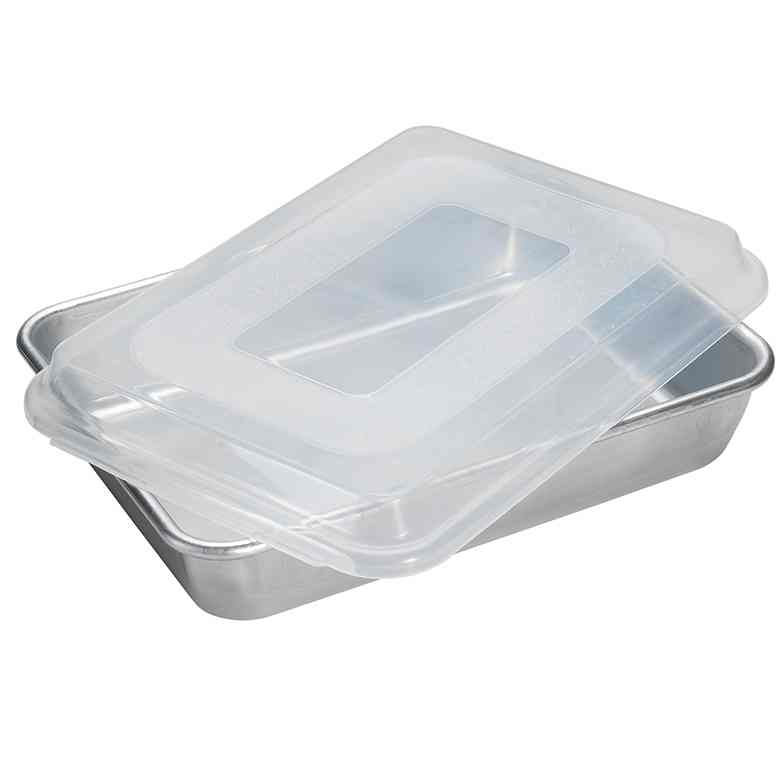 Rectangular Cake Pan with Lid