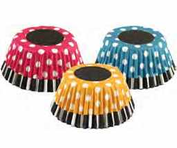 Baking Cups - Retro Polka Dot