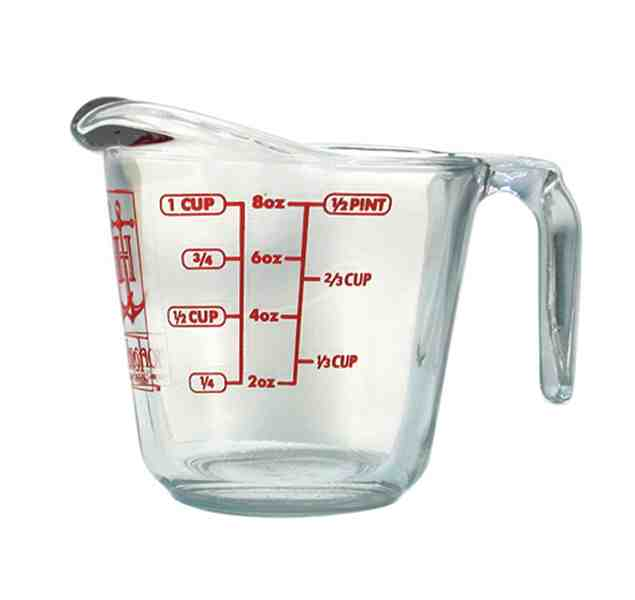1 Cup Glass Measuring Cup