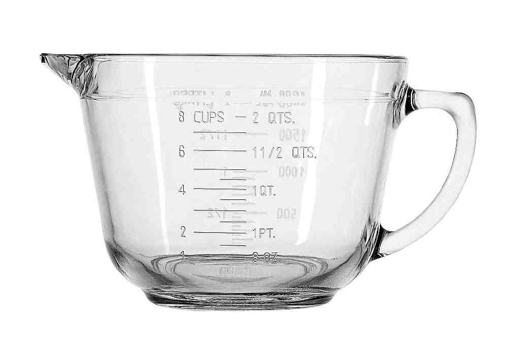 Glass Batter Bowl 2qt