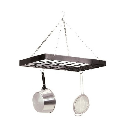 Pot Rack | Oblong Black