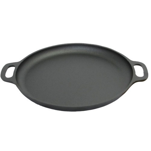 "Old Mountain Cast Iron 16.5"" Pizza Pan - BBQ Griddle"