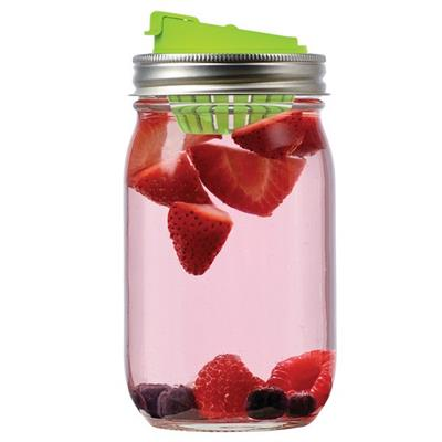 JarWare Mason Jar Fruit Infuser Lid