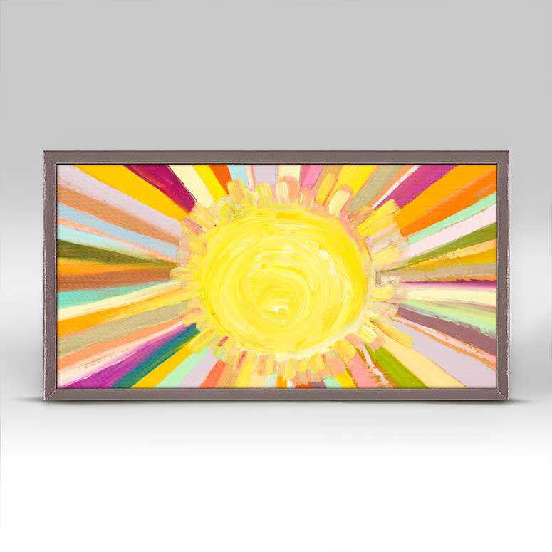 Framed Canvas | Little Sunshine by Eli Halpin