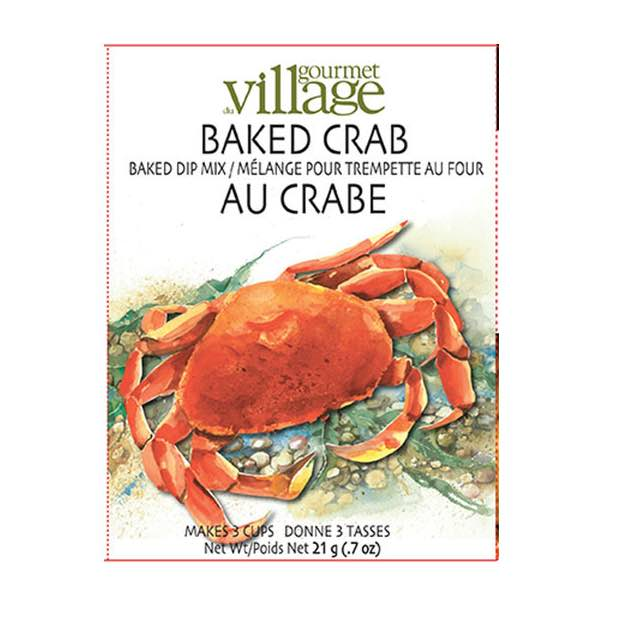 Gourmet du Village Hot Crab Dip Mix