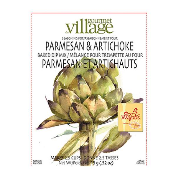 Gourmet du Village Hot Parmesan & Artichoke Dip Mix