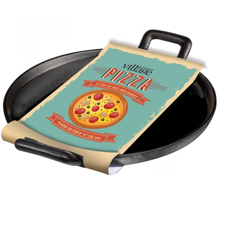 "Cast Iron 12"" Pizza Pan 