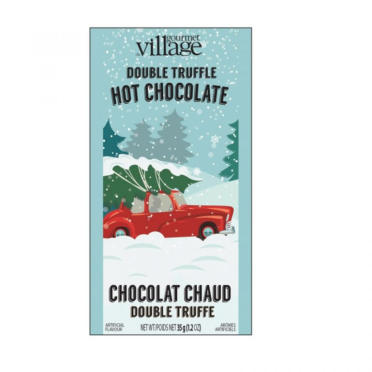 Gourmet du Village Retro Red Truck Hot Chocolate