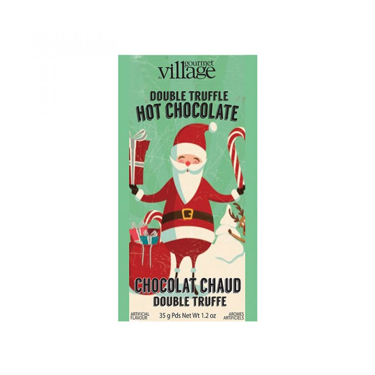 Gourmet du Village Retro Santa Hot Chocolate