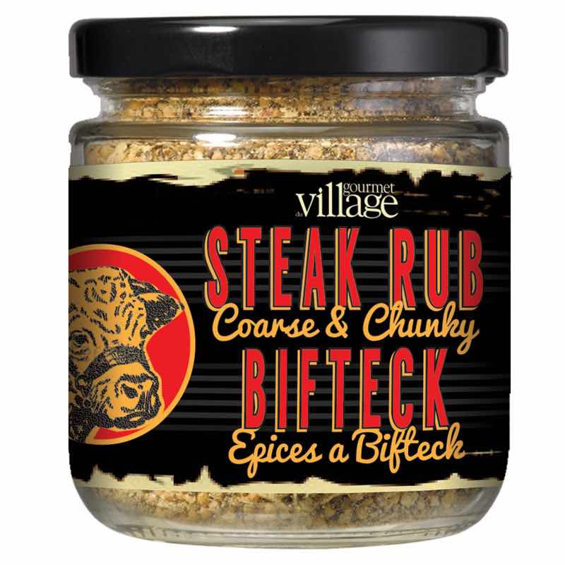 Gourmet du Village Retro Steak Rub Seasoning
