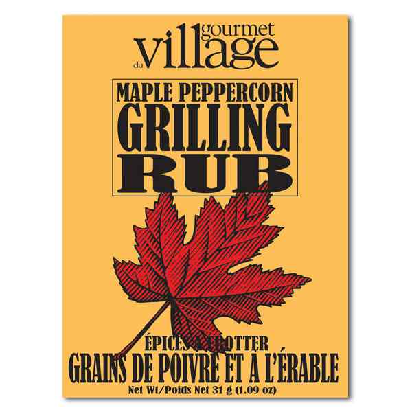 Gourmet du Village Maple Peppercorn Grilling Rub