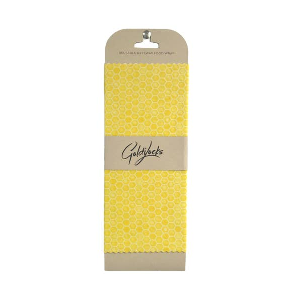 GoldiLocks Honeycomb Beeswax Food Wrap | Single Medium