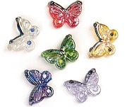 Glass Magnet Butterfly