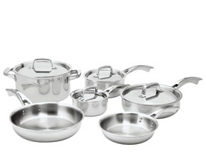 Henckels Zwilling TRUCLAD 10pc Cookware Set
