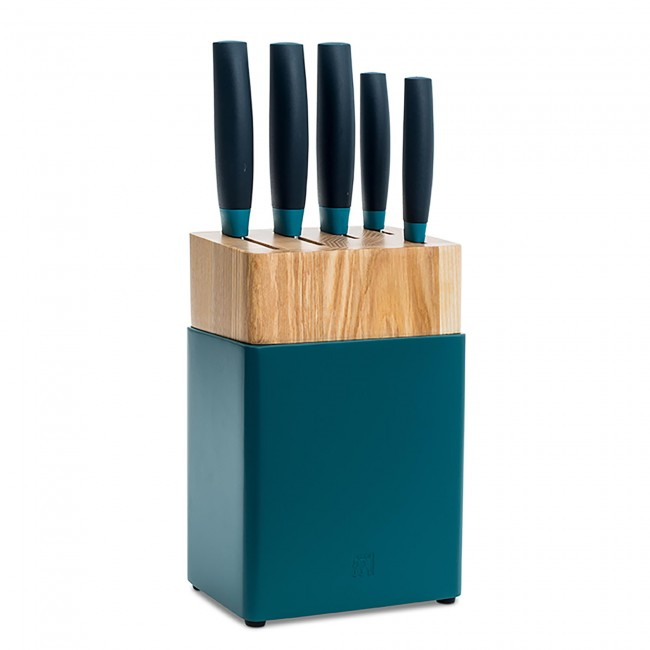 Zwilling J.A. Henckels Now 6pc Knife Set | Blueberry