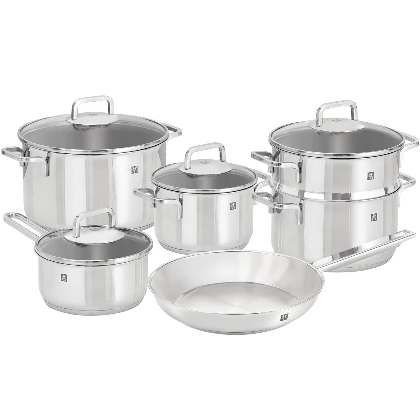 Henckels Zwilling QUADRO 10pc Cookware Set