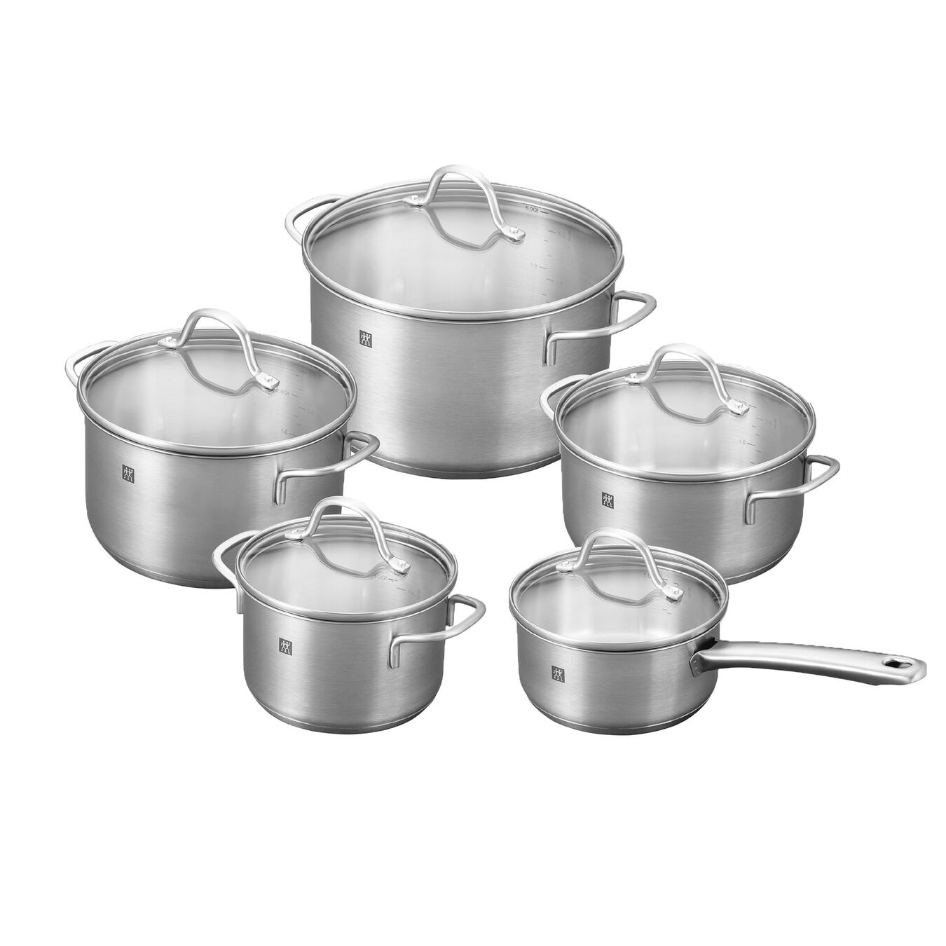 Henckels Zwilling FLOW 10pc Cookware Set
