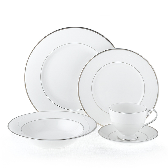 Mikasa Cameo Platinum 5pc Place Setting