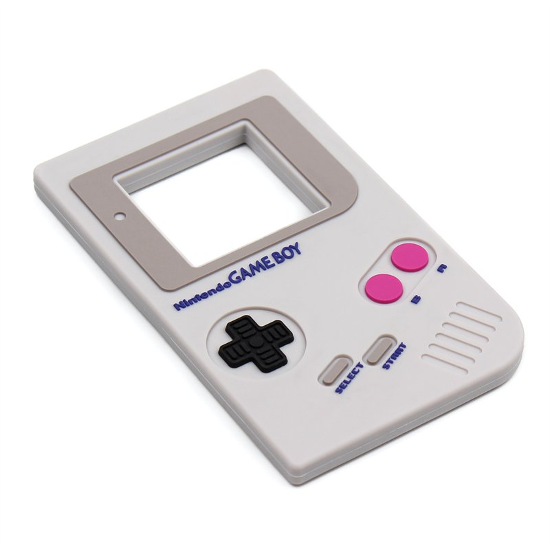 Bumkins Nintendo Silicone Teether | Game Boy