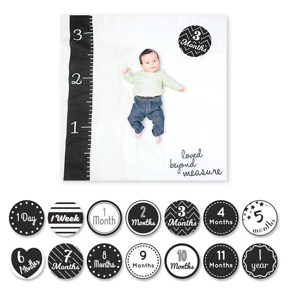 Lulujo Baby's 1st Year Blanket & Cards | Loved Beyond Measure