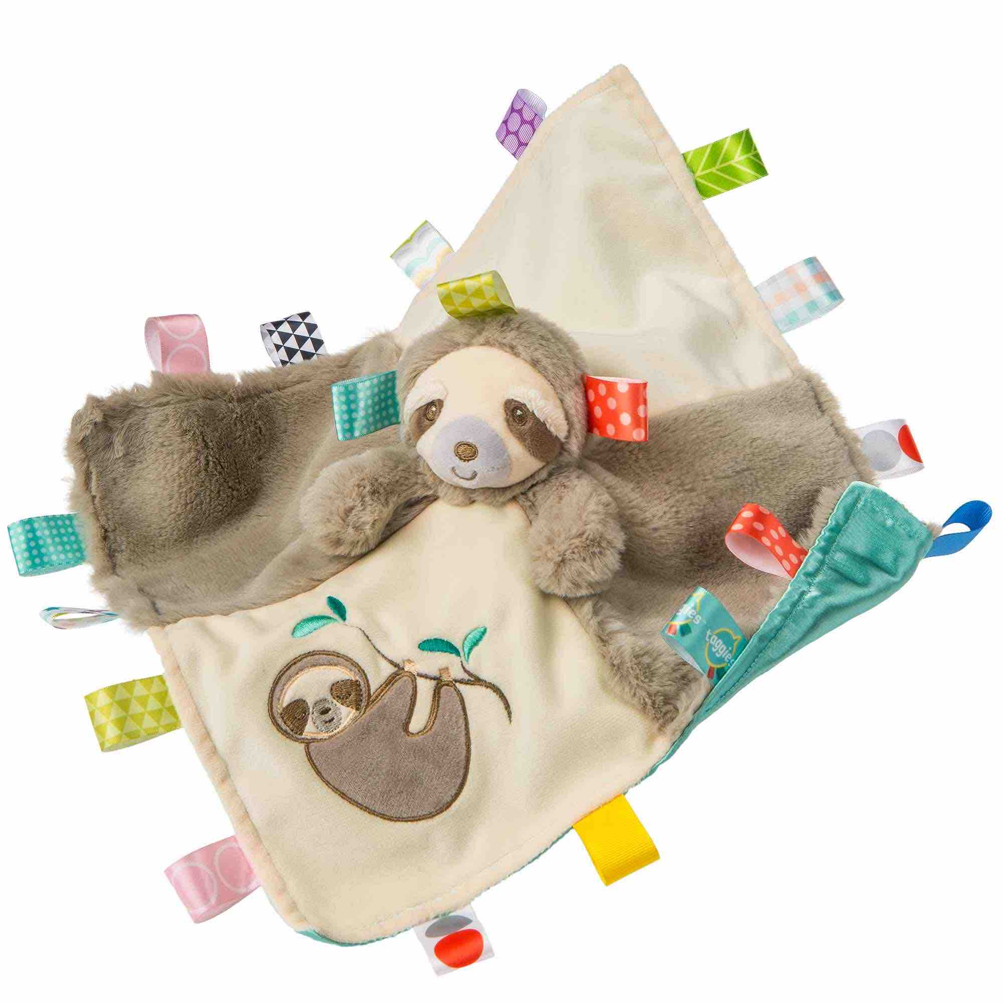 Mary Meyer | Taggies Character Blanket | Molasses Sloth