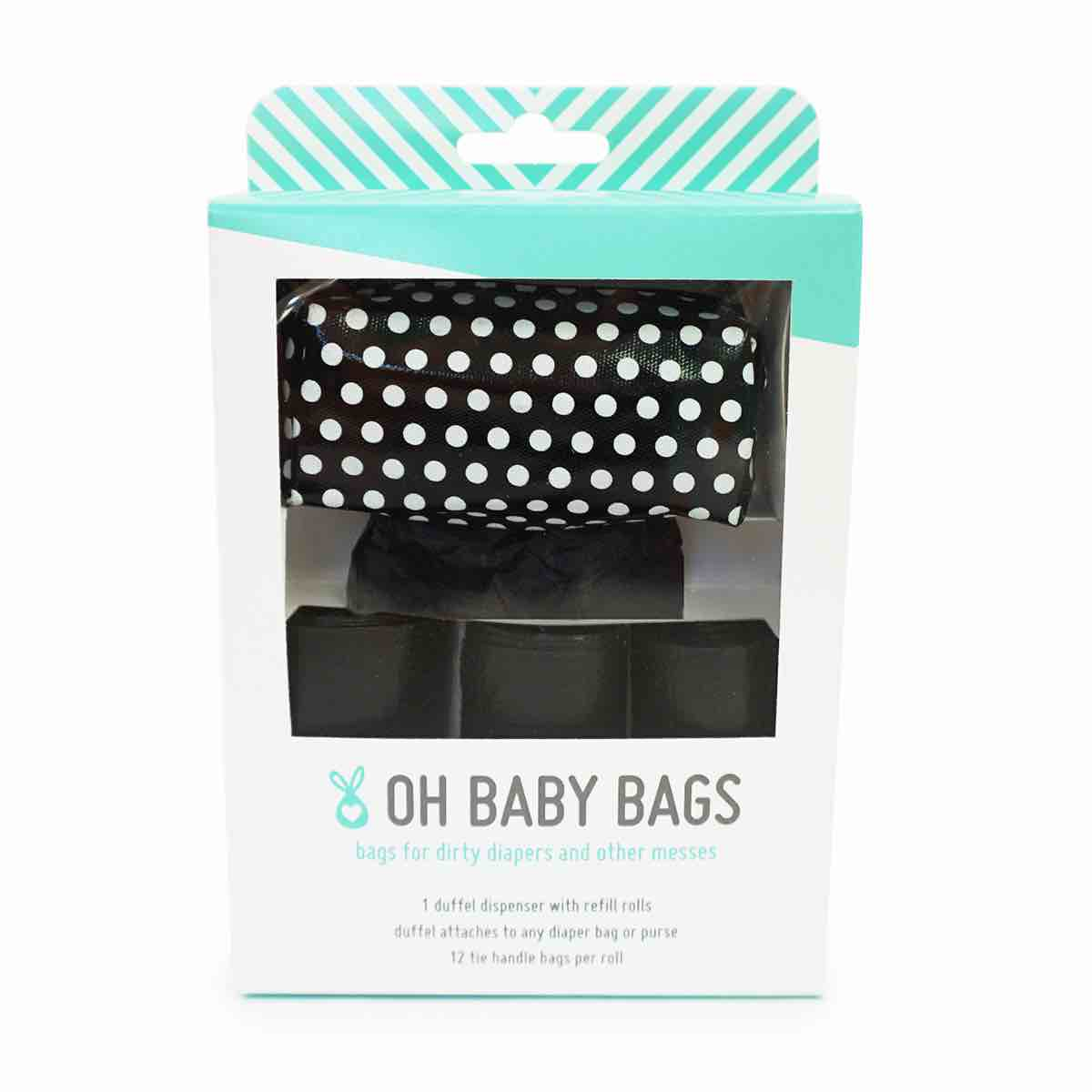 Oh Baby Bags | Duffel + 4 Rolls Gift Set | Assorted Patterns