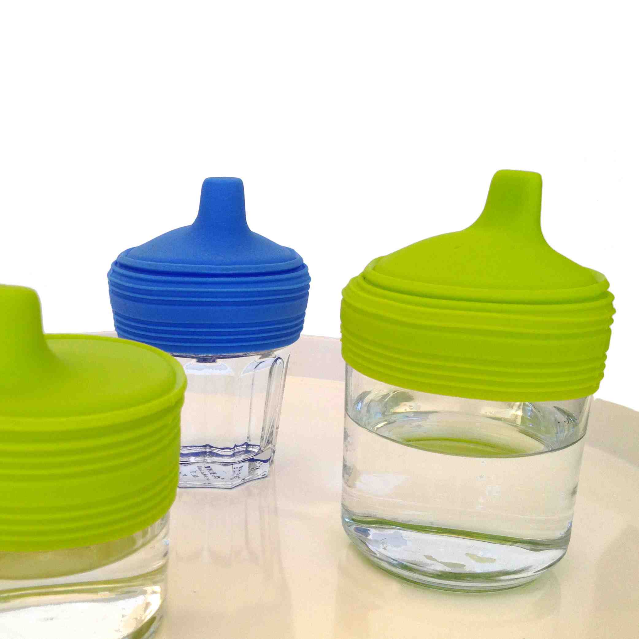 Silikids Siliskin Reusable Silicone Sippy Tops | 2 Pack