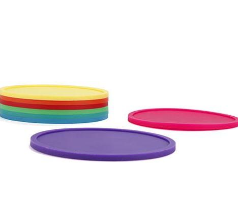 Silicone Coasters | Set of 8