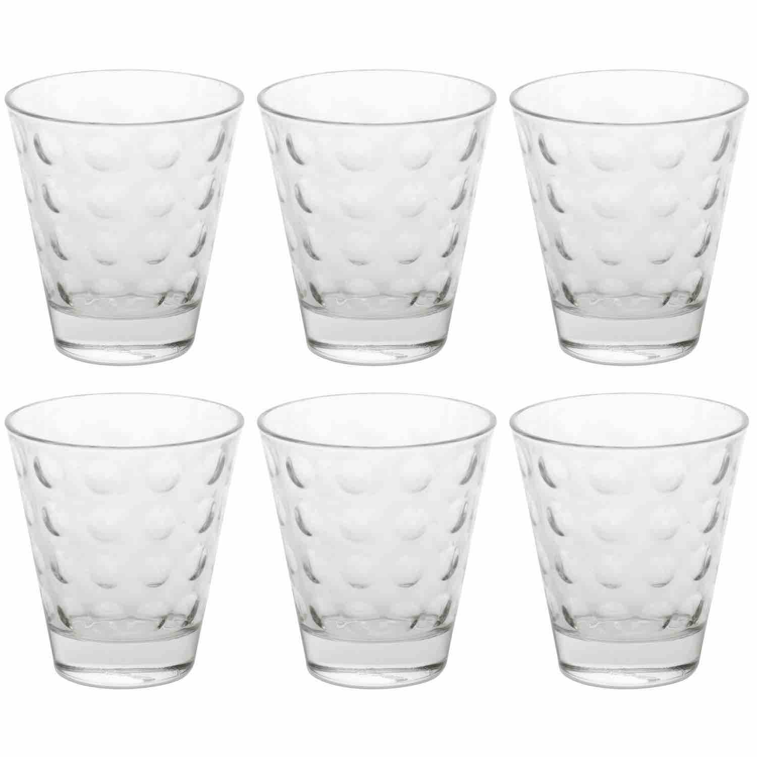 Leonardo Optic Short Tumbler | Set of 6