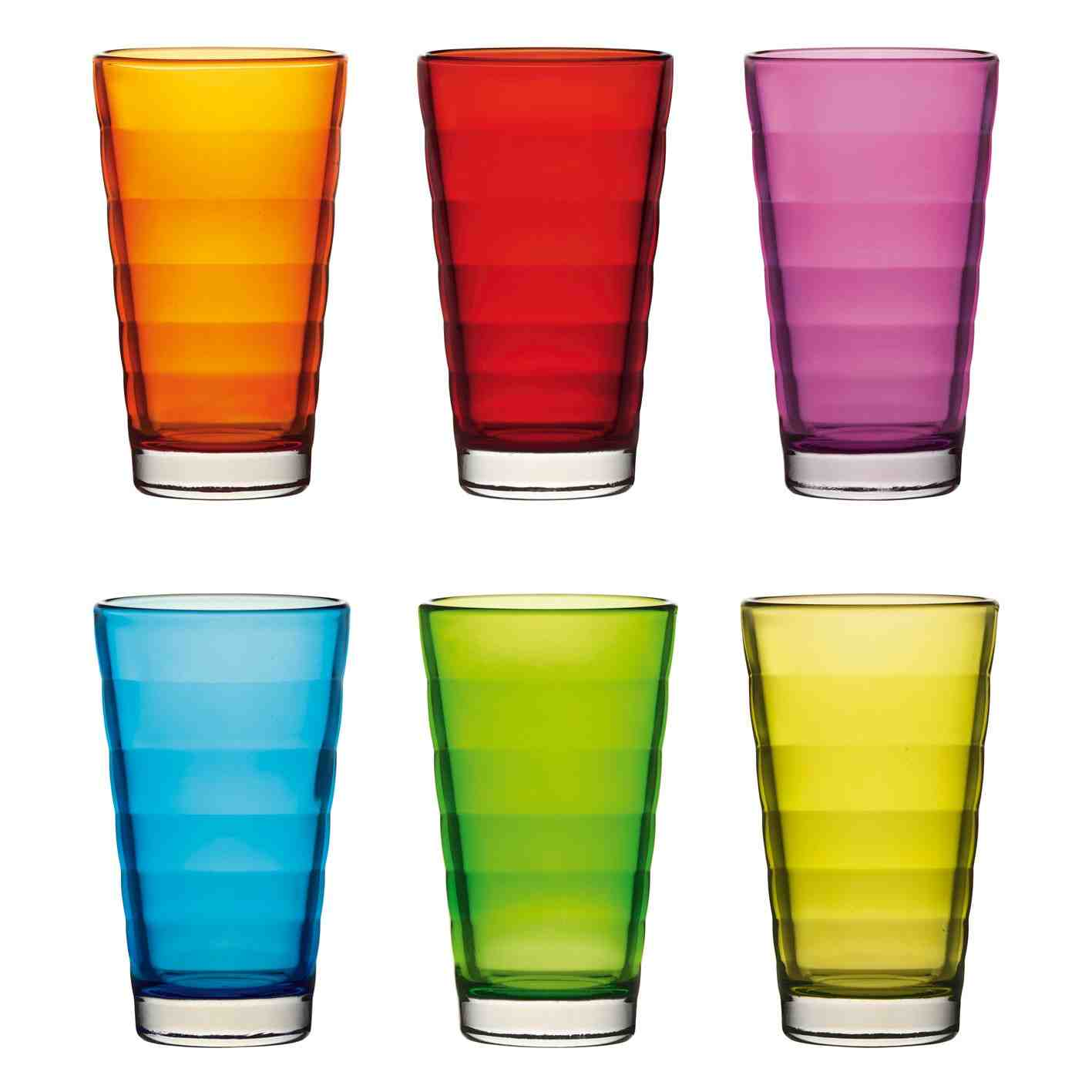 Leonardo Wave Set of 6 Tumblers
