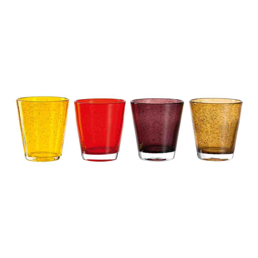 Leonardo Burano Tumblers | Set of 4 | Warm
