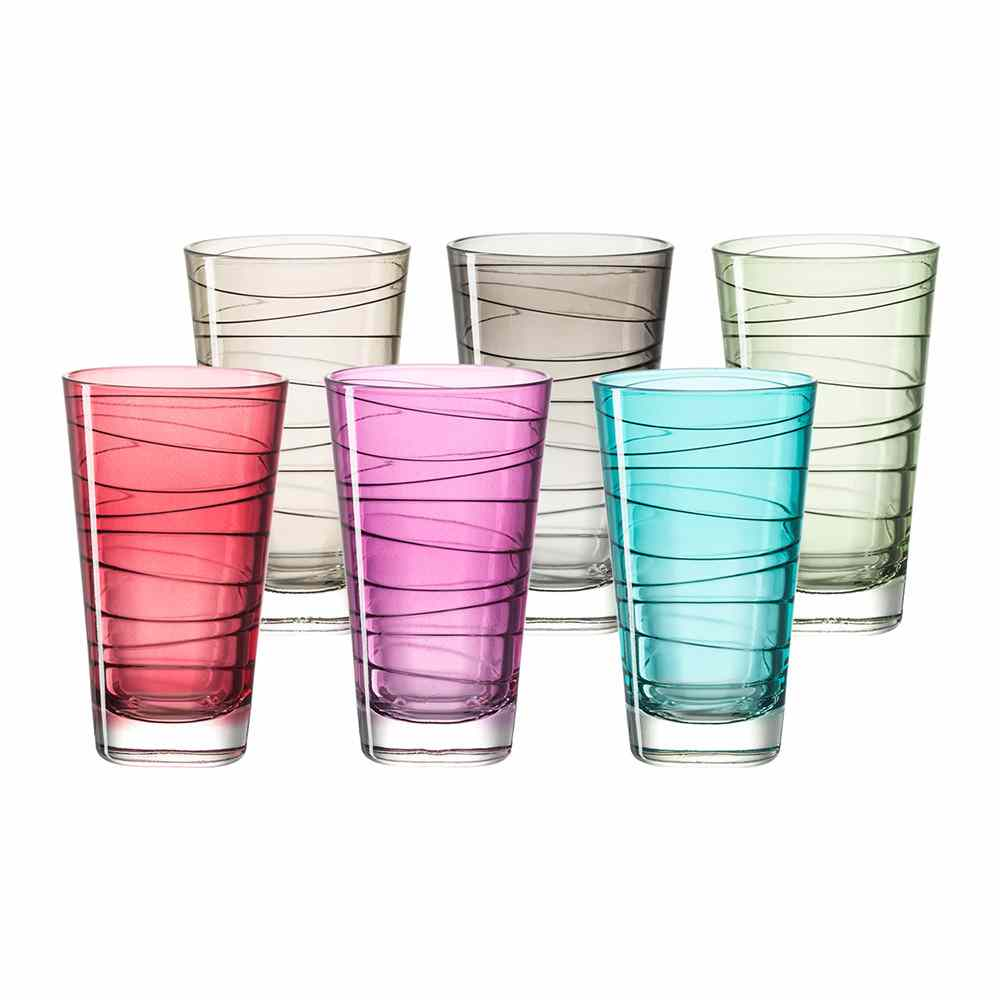 Leonardo Vario Tall Tumblers | Set of 6