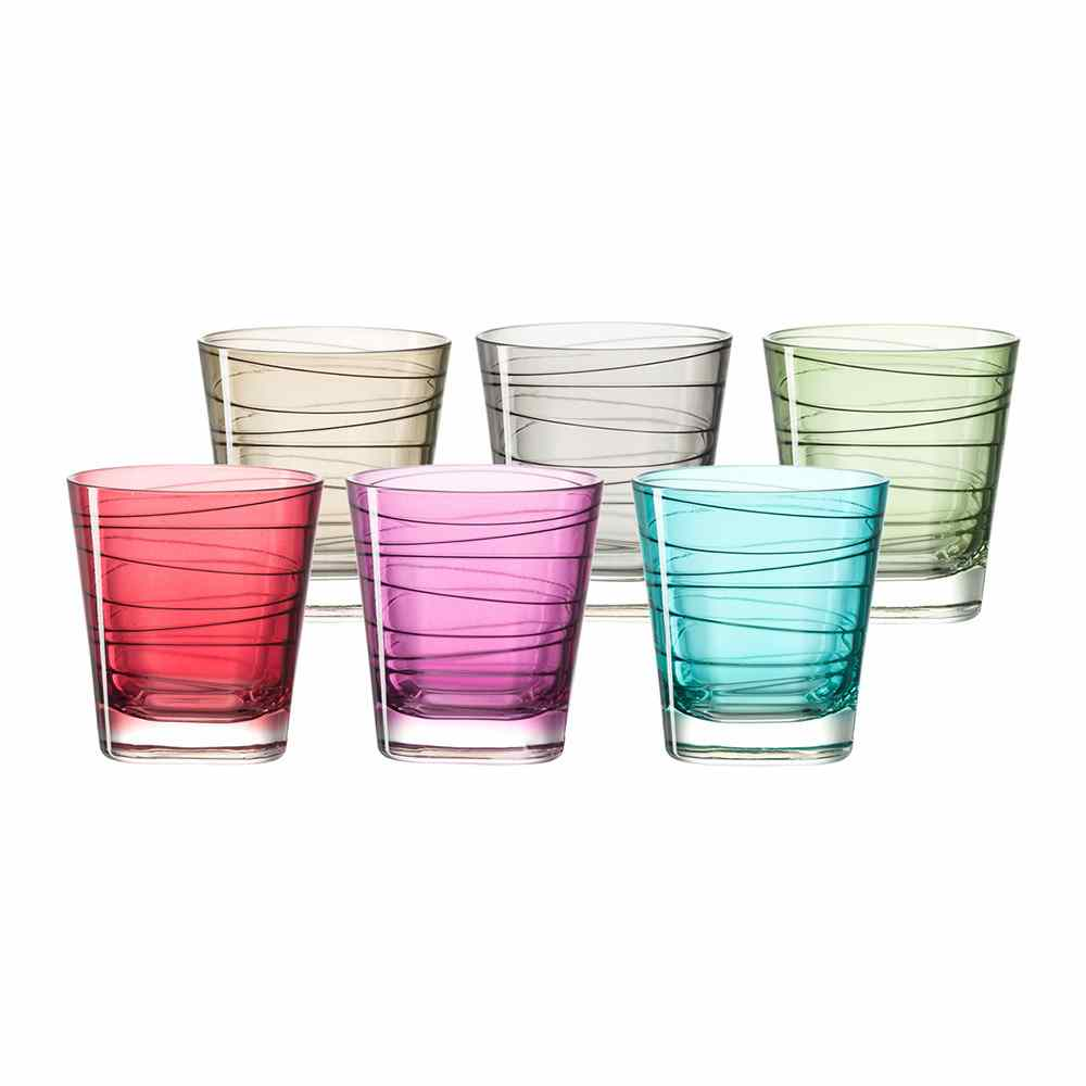 Leonardo Vario Short Tumblers | Set of 6