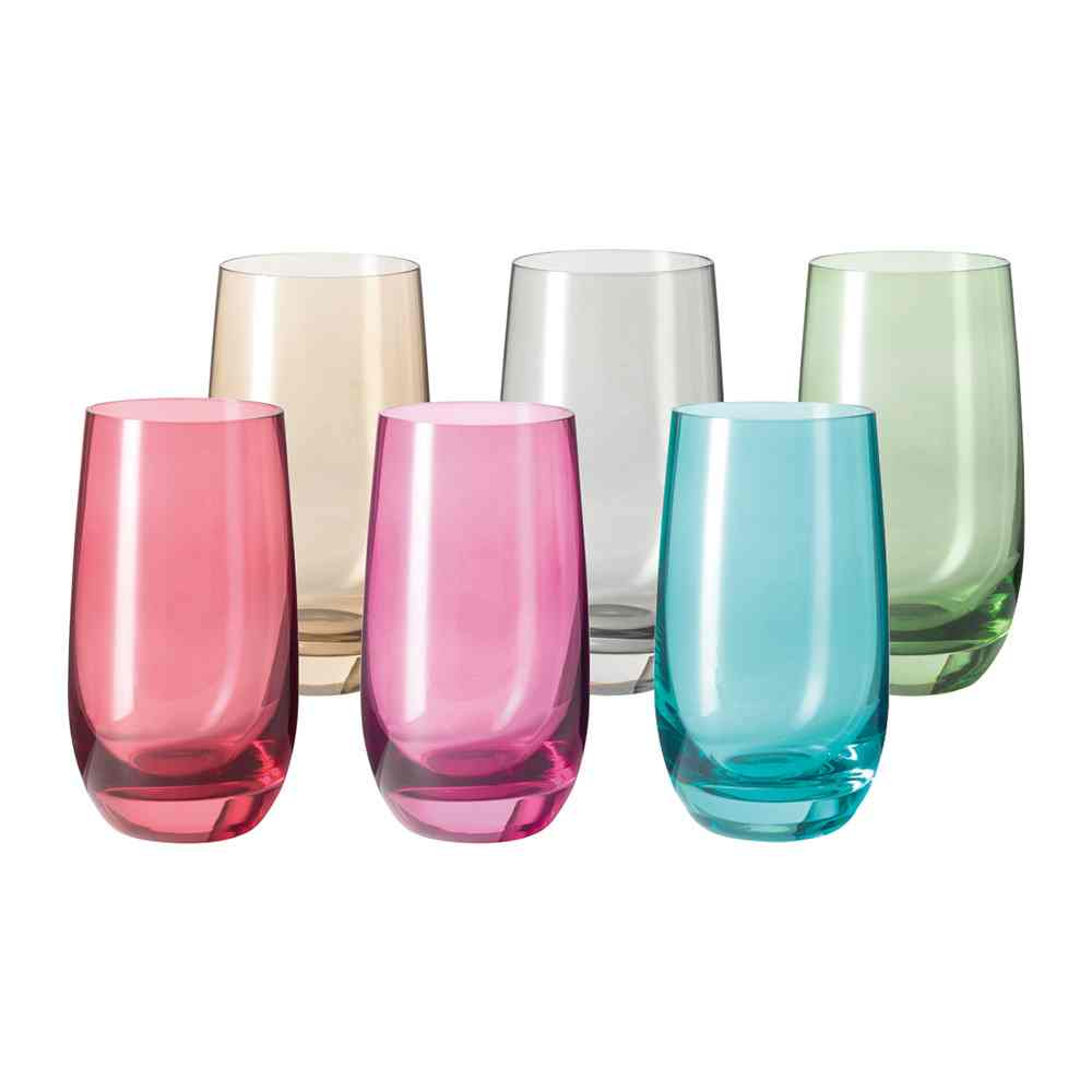 Leonardo Sora Tall Tumblers | Set of 6