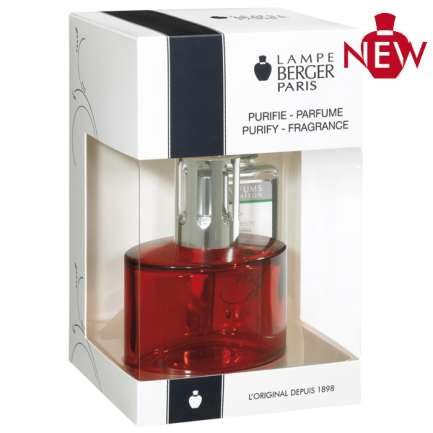 Lampe Berger Ovalie Kit - Red