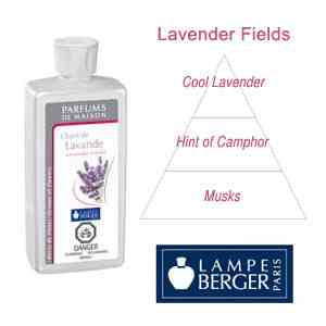 Lampe Berger 500mL Lavender Fields