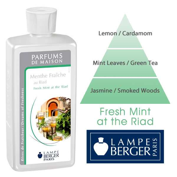 Lampe Berger 500mL Fresh Mint at the Riad