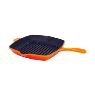 Le Creuset Square Skillet Grill - Flame