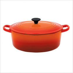 Le Creuset Oval French Oven 6.3L Flame