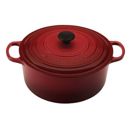 Le Creuset Round French Oven 6.7L Cherry