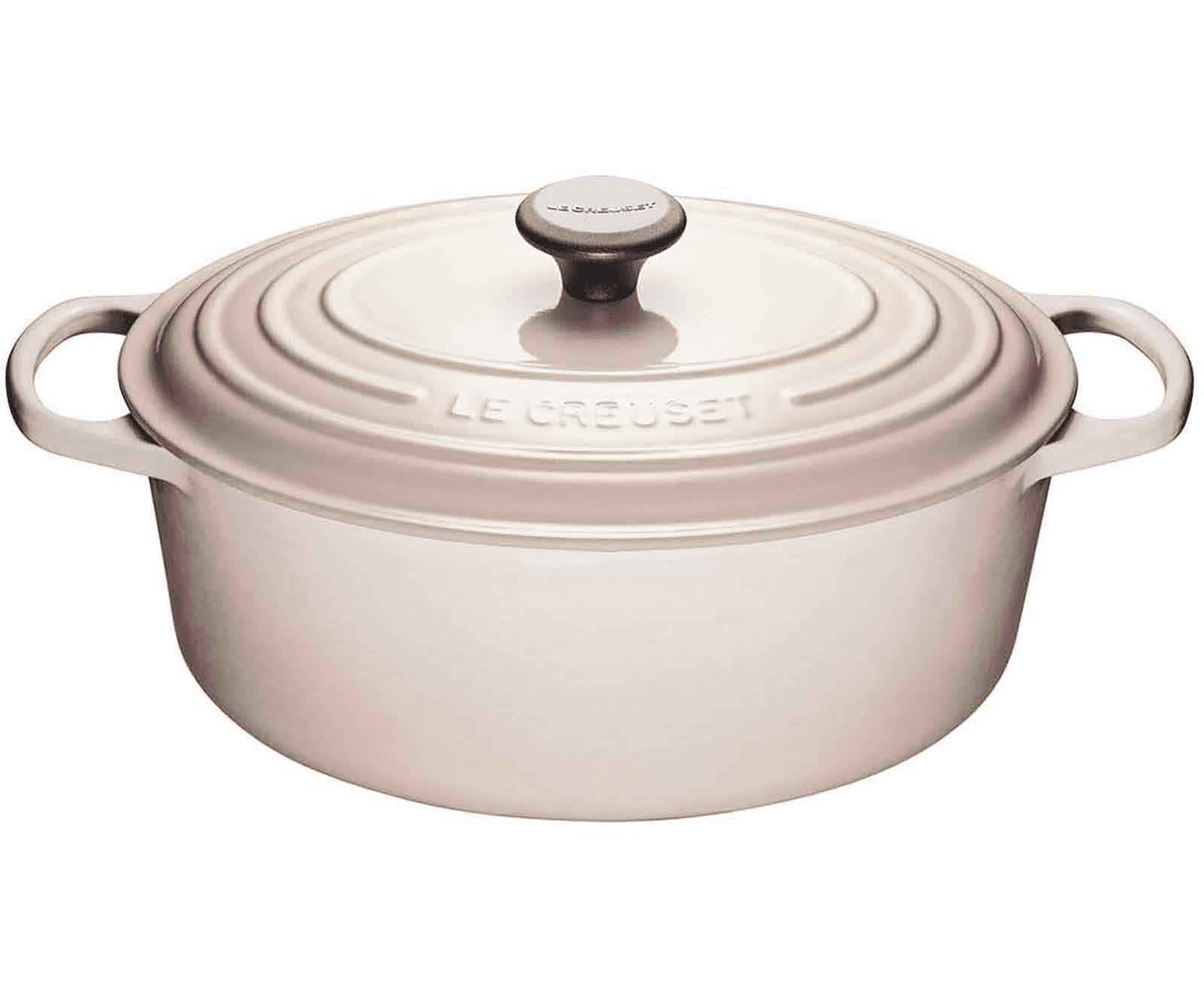Le Creuset Oval French Oven 6.3L | Meringue